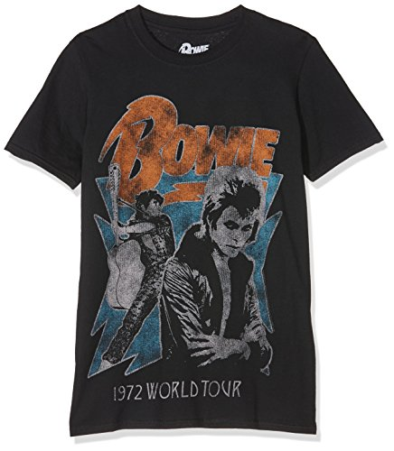 Rockoff Trade Herren T-Shirt 1972 World Tour Schwarz