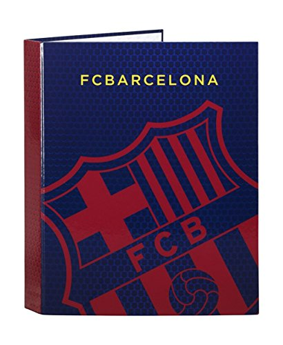Futbol Club Barcelona       Folder Folio 4  Rings Mixed  Safta 511572067