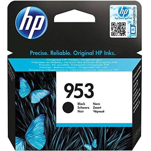 HP 953 23.5ml 1000páginas Negro cartucho de tinta - Cartucho de tinta para impresoras (HP, Negro, OfficeJet Pro 8210 OfficeJet Pro 8218 OfficeJet Pro 8710 AiO OfficeJet Pro 8715 AiO OfficeJet Pro..., Standard Yield, 23,5 ml, 1000 páginas)