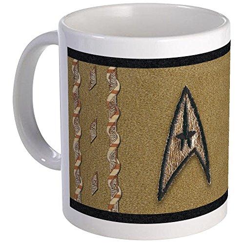 CafePress–Star Trek Classic Command Uniform–Tasse, keramik, weiß, ()