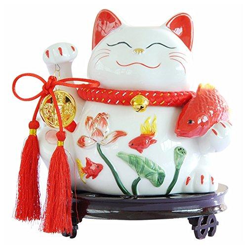 Fyx Cochon Tirelire de Maneki Neko Statue 8\