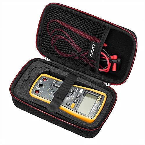 RLSOCO Tasche für Multimeter Digital Fluke 117/116/115/114/113/103/17B+/177/87V/Multimeter (Nur Tasche zum Verkauf, Multimeter ist nicht enthalten)