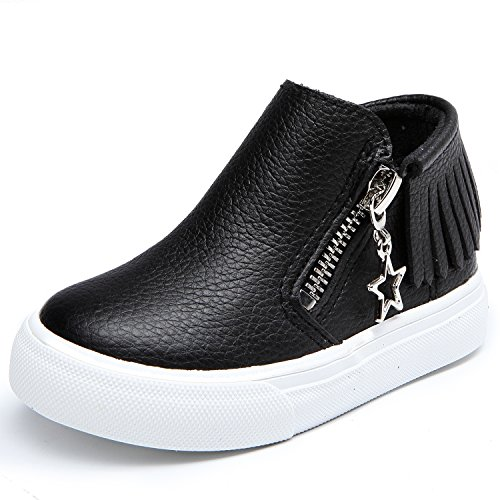 Schwarz M盲dchen Leroy Alexis Baby Low Top Gland Sneakers Kinderschuhe q8qtz4Wn7