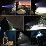 2W LED HEAD LAMP Rechargeable Bright Lig...