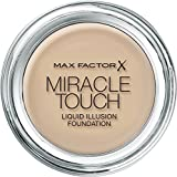 Max Factor Miracle Touch Foundation, 45 Warm Almond