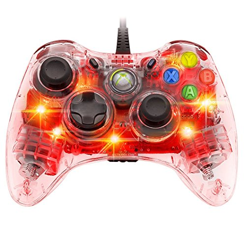 Afterglow Wired Controller for Xbox 360 - Red (Xbox Afterglow 360-controller)
