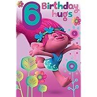 Trolls 6th Birthday Card