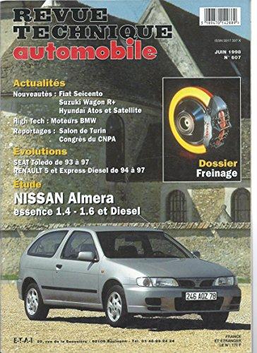 Revue Technique 607.1 Nissan Almera Essence et Diesel