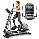 Sportstech LCX800 Luxus Crosstrainer mit Edler 7 Zoll Android-Multifunktionskonsole, 24Kg...