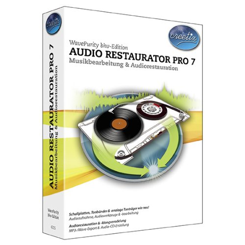 Audio Restaurator Pro 7 Windows Vista-textverarbeitung