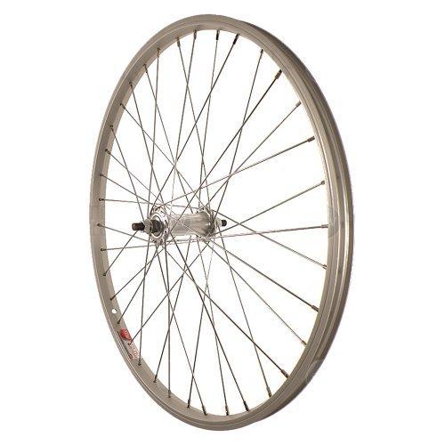 Sta-Tru Silver ST1 36H Rim Front Wheel (24X1.5-Inch) by Sta Tru -