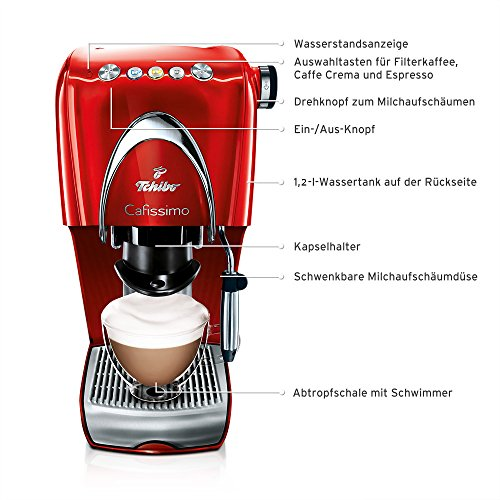 tchibo cafissimo classic kapselmaschine f r kaffee. Black Bedroom Furniture Sets. Home Design Ideas