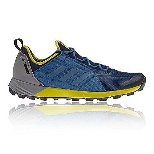 adidas Terrex Agravic Speed, Botas de Montaña para Hombre, Azul (Blu Maruni/Azubas/Limuni), 41 EU