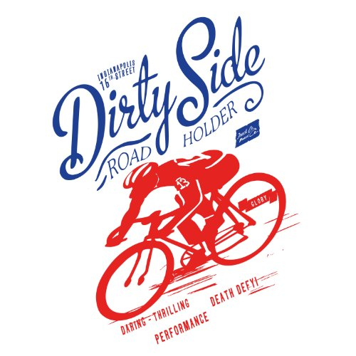 Poster / Tela Canvas - Ciclismo - Bicicletta Racing Team - Vintage Scatto Fisso - 50x70cm - Carta Fotografica