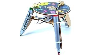 Be Cre8v Scribbler Bot Robotics Kit for Kids