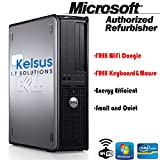 Dell OptiPlex Desktop PC with High Speed Memory - Genuine Windows 7 Home Premium - Internet Ready -
