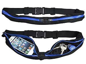 trixes ceinture de course sports avec des poches zipp es. Black Bedroom Furniture Sets. Home Design Ideas