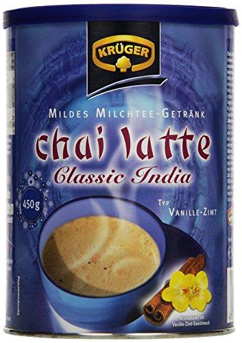 KRÜGER Chai Latte Classic India Typ Vanille Zimt, 6er Pack (6 x 0.45 kg)