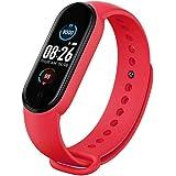 CHYA Tracker Fitness M5 Smart Sport Band Orologio Tracker attività con Cardiofrequenzimetro Smartwatch Impermeabile Ip68 con