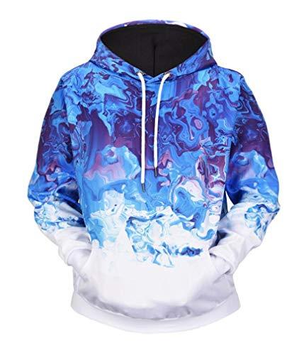 STEAM PANDA Sudadera con Capucha Sudadera con Capucha Unisex Camisa de  Manga Larga Jersey de Invierno otoñal - Abrigo cálido Sud 373739e65992