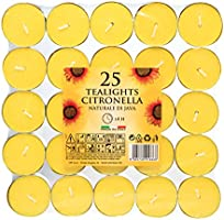 Price's Candles Citronella Tealights - 25 Pack