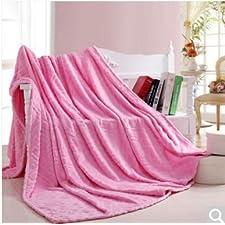BDUK Im Sommer Kühl- und Klimaanlagen und Solid Gold Tiao-Fleece Decke 1 ,J,150*200cm Decken
