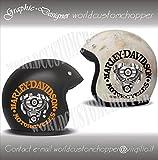 Occasion, Autocollant Harley Davidson pour casque d'occasion  Livré partout en Belgique