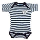 Ringelsuse Babybody Baby Blau Weiß Gestreift Druck Kleiner Bruder Größe 62 68 Baumwolle Fairtrade