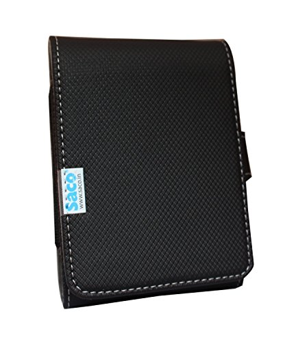 Saco Bag for hard disk case coverpouch for WD My Passport Ultra 2TB Portable External USB 3.0 Hard Drive Drive with Auto Backup  available at amazon for Rs.180