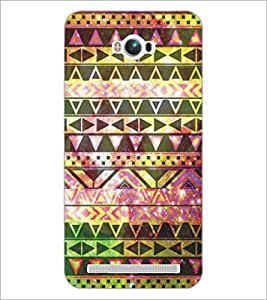PrintDhaba Pattern D-5225 Back Case Cover for ASUS ZENFONE MAX ZC550KL (Multi-Coloured)