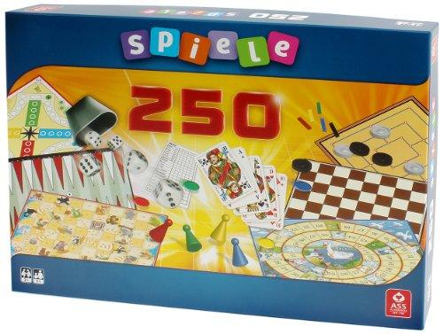 ASS Altenburger 22501341 - Große Spielesammlung mit 250 Spielemöglichkeiten