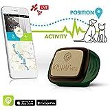 Kippy - Rastreador GPS de mascotas para perros y gatos | Collar GPS & Monitor de actividad para Perros, Gatos y otras mascotas | Funciona con iPhone, Android, Smartphones, Tablets | Suscripción de monitorización de GPS requerida y comercializada por separado