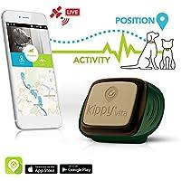 KIPPY Vita - Rastreador GPS de mascotas para perros y gatos, Verde (Camo Sentinel), talla única