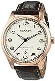Die besten Marken In Uhren - GANT TIME Herren-Armbanduhr MONTAUK Analog Quarz Leder W71303 Bewertungen