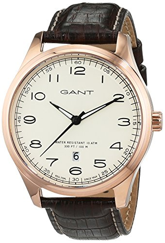 Gant Montauk Time Men's Watch Analogue Quartz Leather W71303