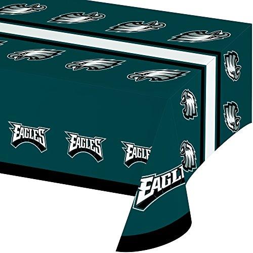 Creative Converting NFL Papierschüssel, offizielles Lizenzprodukt, 8 Stück, 570 ml, Philadelphia Eagles Tablecover (Superbowl Supplies Party)