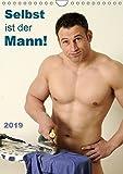 Selbst ist der Mann! (Wandkalender 2019 DIN A4 hoch): 12 nackte Männer bei Hobby und Haushalt (Monatskalender, 14 Seiten ) (CALVENDO Menschen)