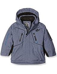 Peak Mountain Ecamate – Cazadora de esquí para niño, Niño, color Bleu Chiné, tamaño 6 años (talla del fabricante: 6 ans)