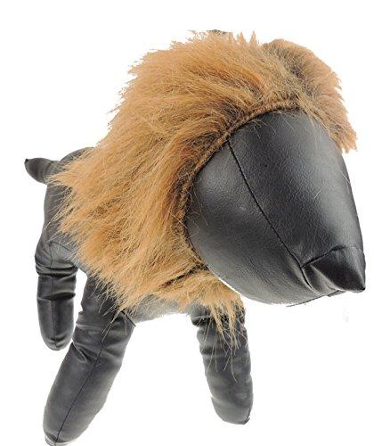 (Hunde- / Katzenkostüm zum Überziehen, Löwenmähne, geeignet für kleine und große Tiere)