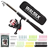 Best Fishing Rods And Reels - Walsilk Spinning Fishing Rod and Reel Combo Full Review