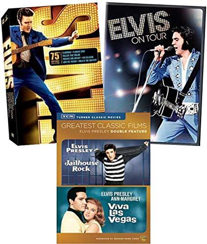 Elvis Presley 10 Filmsammlungs-DVD - Jailhouse Rock / Viva las Vegas / Elvis on Tour / Clambake / Follow That Dream / Kid Galahad / Love me Tender / Wild in the Country / Flaming Star