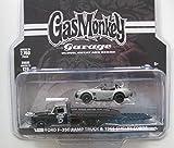 1970 Ford Ramp Truck & 1965 Shelby Cobra GAS MONKEY GARAGE - Greenlight 1:64