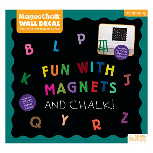 MudPuppy ¡Diversión con ABCs! Magnachalk Wall Decal
