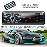 Car Radio, Lypumso Bluetooth Stereo, MP3 Player, Supports Hands-Free Calls and Radio Function