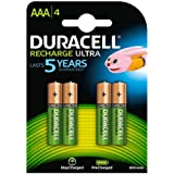 Duracell - Pile Rechargeable - AAA x 4 - Stay Charged (LR03)