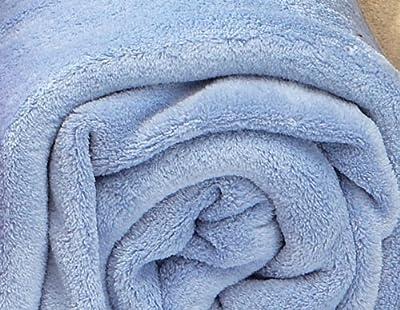 Burrito Blanco - Manta térmica Coralina lisa 01, color azul