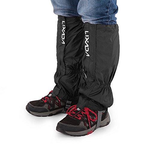 gamaschen schnee Lixada Gamaschen Unisex mit Reißverschluss für Radfahren Snowboarden Wandern