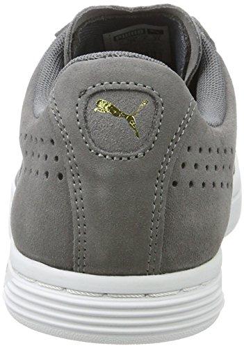 Puma Unisex-Erwachsene Court Star Suede Sneaker Grau (Quiet Shade)