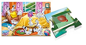 Lisciani Giochi 48458-Puzzle Maxi Flip-Flap Carga 101, 24Unidades