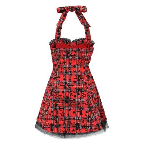 H&R London - Robe -  Femme Rouge